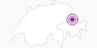 Unterkunft Hotel Scesaplana im Prättigau: Position auf der Karte