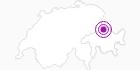 Unterkunft Landgasthof Krone im Prättigau: Position auf der Karte