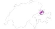 Unterkunft Restaurant Rama-Rama im Prättigau: Position auf der Karte