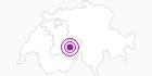 Unterkunft Gastronomie Jungfraujoch in der Jungfrau Region: Position auf der Karte