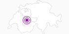 Unterkunft Haus Maya in Adelboden - Frutigen: Position auf der Karte