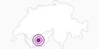 Unterkunft Chalet Bleu im Val d'Anniviers: Position auf der Karte