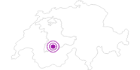 Accommodation Pension Sonne in Adelboden - Frutigen: Position on map