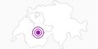 Unterkunft Chez Moni in Adelboden - Frutigen: Position auf der Karte