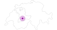 Accommodation Kanderbrück, Studio in Adelboden - Frutigen: Position on map
