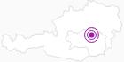 Unterkunft Romantisches Turmhaus Sammer Kroissenbrunner in der Hochsteiermark: Position auf der Karte