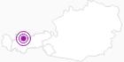 Unterkunft Bettina Appartements in der Tiroler Zugspitz Arena: Position auf der Karte