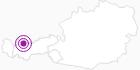 Unterkunft Pension Caroline in der Tiroler Zugspitz Arena: Position auf der Karte