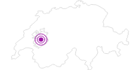Unterkunft Motel de la Gruyère A12 in Fribourg: Position auf der Karte