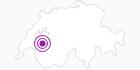 Unterkunft Hôtel de Ville in Fribourg: Position auf der Karte