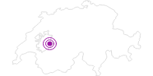 Unterkunft Pension Haus Montanara in Fribourg: Position auf der Karte