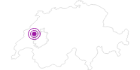 Unterkunft Hôtel du Port in Fribourg: Position auf der Karte