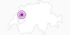 Unterkunft Hôtel de l'Ours in Fribourg: Position auf der Karte
