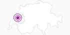 Unterkunft WHITE Lise in Fribourg: Position auf der Karte