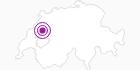 Unterkunft Eulenhof - N. & W. Gaillet in Fribourg: Position auf der Karte