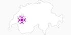 Unterkunft Gîte d´Allières in Fribourg: Position auf der Karte
