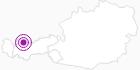 Unterkunft Appartements Sonnalm in der Tiroler Zugspitz Arena: Position auf der Karte