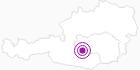 Unterkunft Elfriede & Meinrad Rosian in der Urlaubsregion Murtal: Position auf der Karte