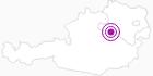 Accommodation Fewo Doris Eder in the Mostviertel: Position on map