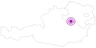 Accommodation Familienhotel Blümchen in the Mostviertel: Position on map