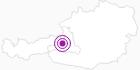 Accommodation Lettenbauer at the Hochkönig: Position on map