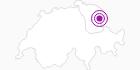 Unterkunft Berggasthaus Meglisalp im Appenzellerland: Position auf der Karte
