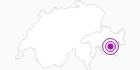 Accommodation Hotel Allegra in Engadin St. Moritz: Position on map