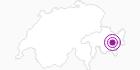 Unterkunft Gästehaus Convict Zuoz in Engadin St. Moritz: Position auf der Karte