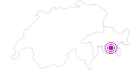 Unterkunft Hotel Süsom Surlej in Engadin St. Moritz: Position auf der Karte