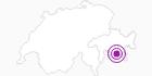 Unterkunft Pension Chesa Pool in Engadin St. Moritz: Position auf der Karte