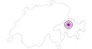 Unterkunft Battagliahütte Brambrüesch in Chur: Position auf der Karte