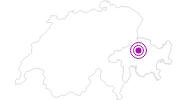 Unterkunft Naturfreundehaus Brambrüesch in Chur: Position auf der Karte