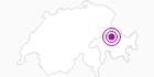 Accommodation Hotel Freieck in Chur: Position on map