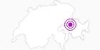 Unterkunft Schlosshotel Adler Reichenau in Chur: Position auf der Karte