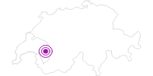 Unterkunft B&B Le Vieux Chalet in Genferseegebiet: Position auf der Karte