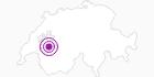 Unterkunft 3 Zimmer Wohnung in Fribourg: Position auf der Karte