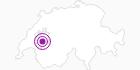 Unterkunft Les Laviaux in Fribourg: Position auf der Karte