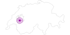 Unterkunft MISEREZ Diana & André in Fribourg: Position auf der Karte