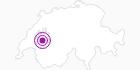 Unterkunft Chalet spacieux in Fribourg: Position auf der Karte