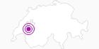 Unterkunft Le Château in Fribourg: Position auf der Karte