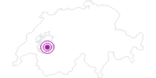 Unterkunft Buvette de l´Hauta Chia in Fribourg: Position auf der Karte