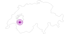 Unterkunft Auberge de l´Ange in Fribourg: Position auf der Karte