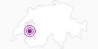 Unterkunft Hôtel-Restaurant-Bar Vanil Noir in Fribourg: Position auf der Karte