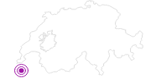 Unterkunft Ferme Auberge de La Loue in Fribourg: Position auf der Karte