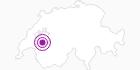 Unterkunft Wohnung 3 Zimmer in Fribourg: Position auf der Karte