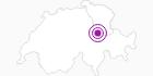 Unterkunft Skihaus Mattwald im Heidiland : Position auf der Karte