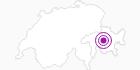 Unterkunft Gasthaus u. Hotel Post in Bergün Filisur: Position auf der Karte
