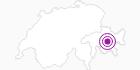 Unterkunft Pfadiheim Muntanella in Bergün Filisur: Position auf der Karte