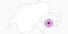 Unterkunft Gasthaus Walserstuba in Viamala: Position auf der Karte