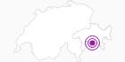 Unterkunft Pension Edelweiss in Viamala: Position auf der Karte